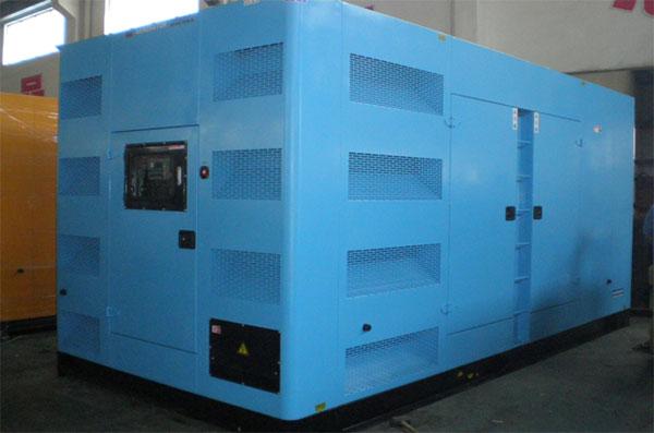 100KW-500KW低噪音和yi动电站fa电机zu